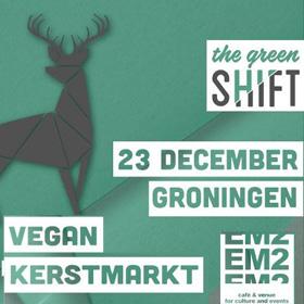 Veganistische kerstmarkt 23-12-2018 EM2 Groningen food muziek Vegetarisch Weekmenu
