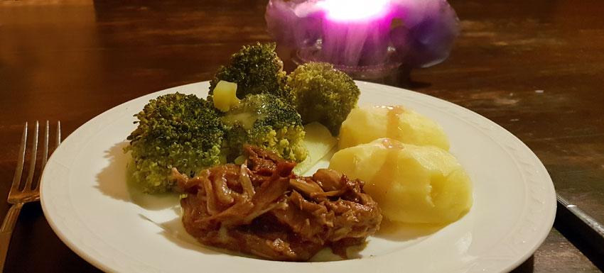 Broccoli recept zoet zure citroensaus hoofdgerecht Vegan