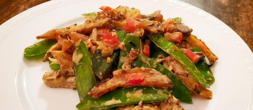 Groenten met shoarma vegan recept vegetarisch weekmenu