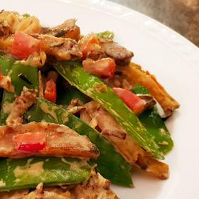 Groenten met shoarma zaterdaghap snelle hap vegetarisch weekmenu