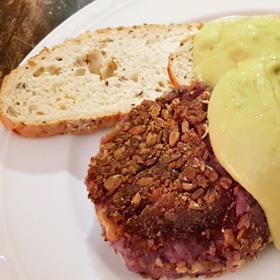 Home-made vegan groenteburgers diy recept vegetarisch