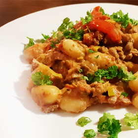 Snelle gnocchi recept pasta tomaten Vegetarisch weekmenuchi-recept-pasta-tomaten-vegetarisch-weekmenu