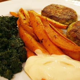 Boerenkoolburgers vegan burgers recept vegetarisch weekmenu