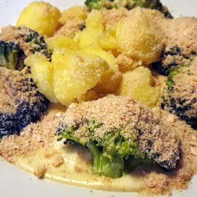 Broccoli met beschuit koken hoofdgerecht vegetarisch weekmenu