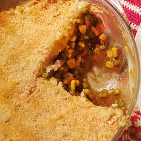 Vegetarische Shepherd's pie ovenschaal vegetarisch weekmenu