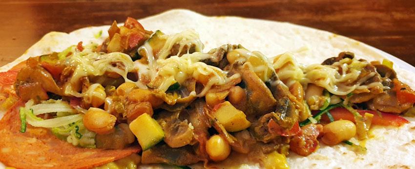 Wraps met witte bonen recept quorn vegetarisch-