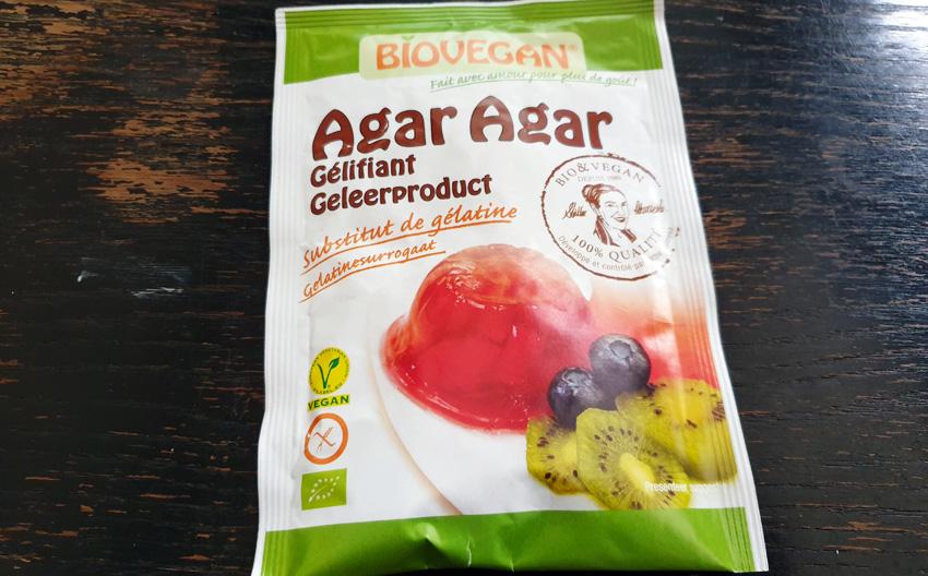 Gelatine vervangen door Agar agar