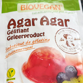 Hoe vervang je gelatine door agar agar