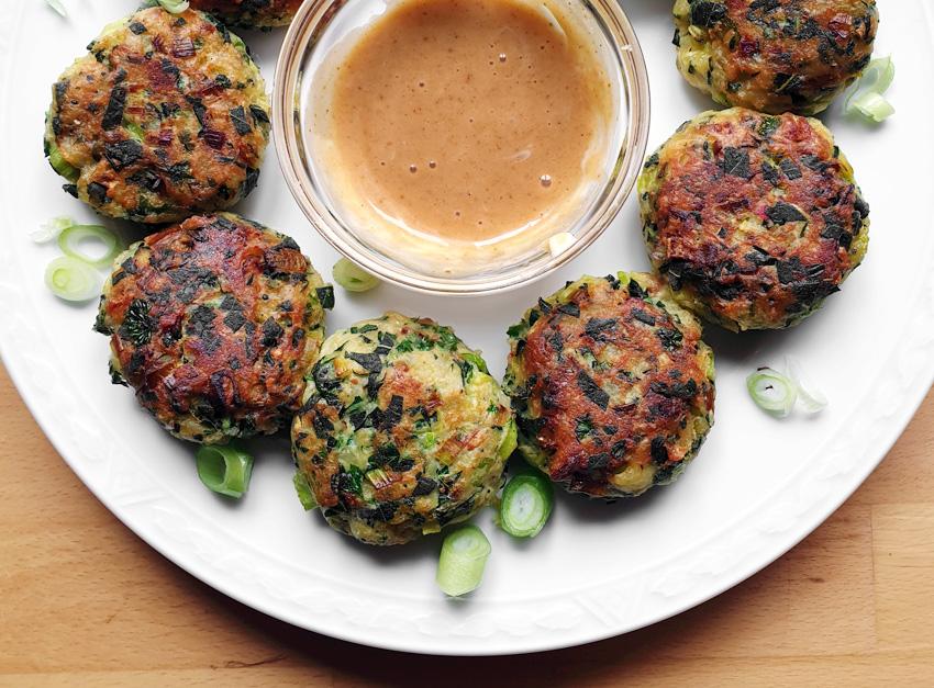 Aardappel groente balletjes nofoodwaste vegan vegetarisch