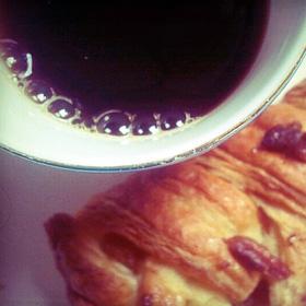 Sociale media Vegetarisch Weekmenu koffie pecanbroodje
