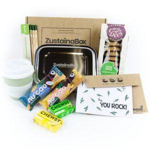ZustainaBox Corona thuiswerk-box vegan plasticvrij