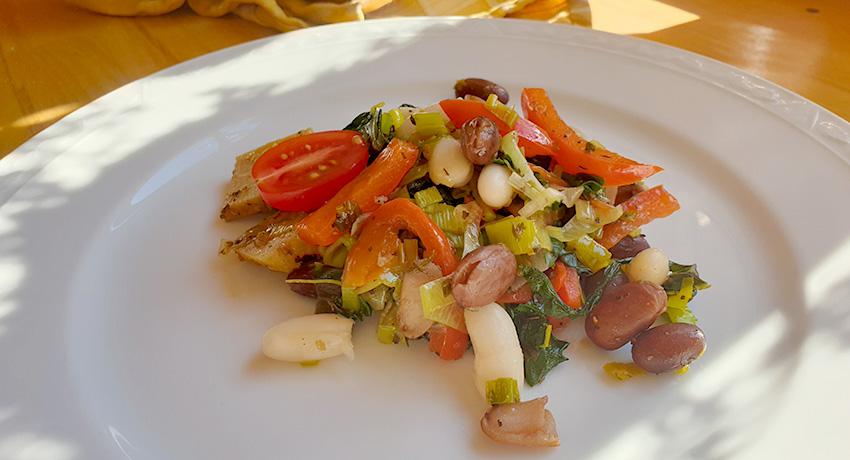 Bonensalade recept warm of koud serveren Vegetarisch Weekmenu