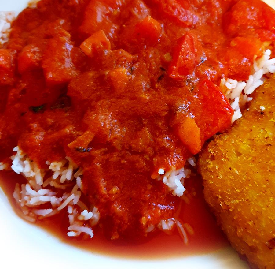 Tomaten in tomatensaus recept vegan vegetarisch